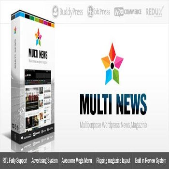 قالب فارسی وردپرس Multinews v2.6.4.1 – Multi-purpose WordPress News,Magazine