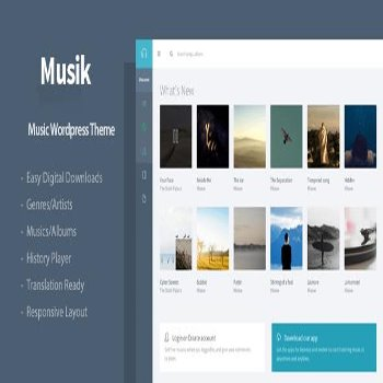 قالب فارسی وردپرس Musik v2.3.3 – Responsive Music WordPress Theme