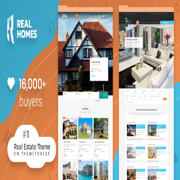 قالب فارسی وردپرس Real Homes v3.7.0 – WordPress Real Estate Theme